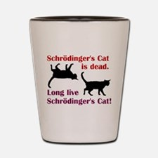 Schrodingers Cat Shot Glass