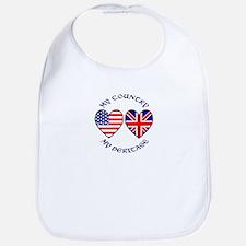 USA / UK Country Heritage Bib
