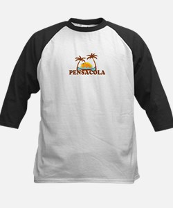 Pensacola Beach - Palm Trees Design. Tee