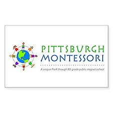 Pittsburgh Montessori Rectangle Decal