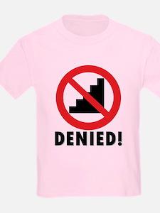 No Stairway Kid's Light T-Shirt