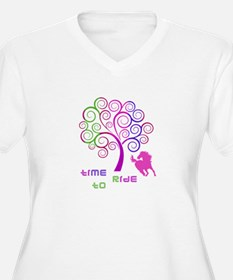 Time To Ride Plus Size T-Shirt