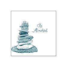 Be Mindful Cairn Rocks Sticker