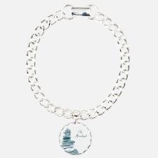 Be Mindful Cairn Rocks Bracelet