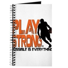 Play Strong Possible Basketball Journal