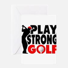 Golf_Mens_TEE Greeting Card