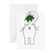 Season's Greetings From Our Cat Greeting Cards (Pk