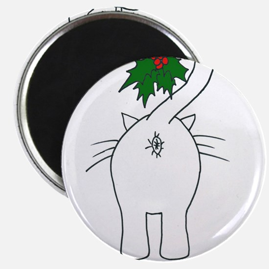 "Season's Greetings From Our Cat 2.25"" Magnet (10 p"