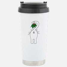 Season's Greetings From Our Cat Travel Mug