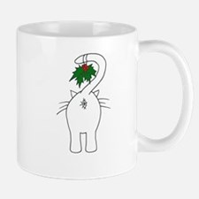 Season's Greetings From Our Cat Small Mugs