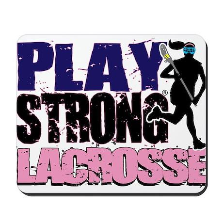 Girl's Lacrosse Mousepad