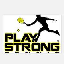 Play Strong Tennis Postcards (Package of 8)