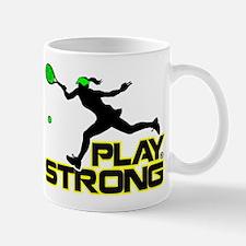 Play Strong Tennis Mug