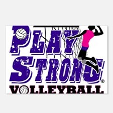GirlsVolleyBallSlamTee Postcards (Package of 8)