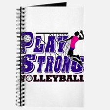 GirlsVolleyBallSlamTee Journal