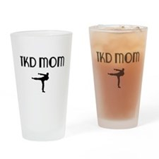 TKD MOM Drinking Glass