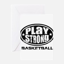 PSLogo_Tee_Basketb Greeting Card