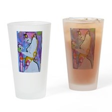Face to face - Kundalini Lady Drinking Glass