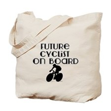 Future Cyclist on Board Tote Bag