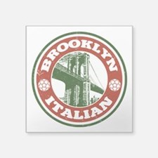 Brooklyn New York Italian Sticker