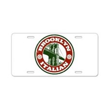 Brooklyn New York Italian Aluminum License Plate