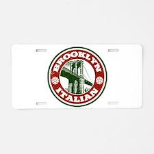 Brooklyn New York Italian Aluminum License Plate