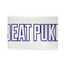 Beat Puke Rectangle Magnet