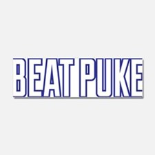Beat Puke Car Magnet 10 x 3