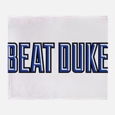 Beat Puke Throw Blanket