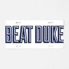 Beat Puke Aluminum License Plate
