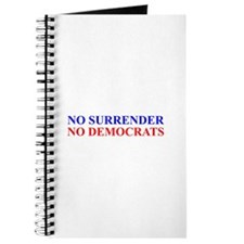 No Surrender No Democrats Journal