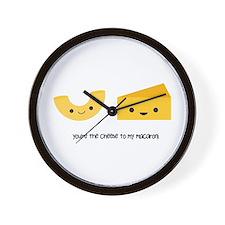 Macaroni and Cheese Wall Clock