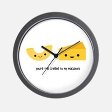 Macaroni and Cheese Wall Clock