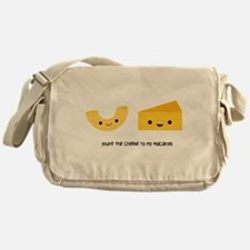 Macaroni and Cheese Messenger Bag