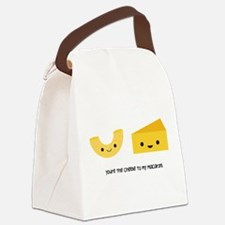 Macaroni and Cheese Canvas Lunch Bag