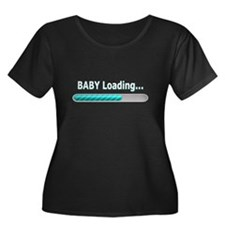 Baby Loading Plus Size T-Shirt