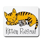 Kitten Rescue Mousepad