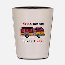 Save Lives Shot Glass