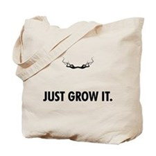 Grow A Mustache Tote Bag