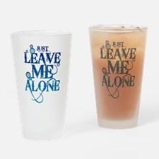 Teenagers attitude - Just Leave Me Alone Drinking