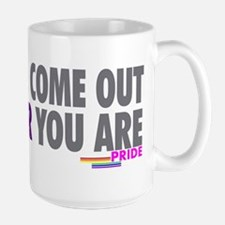Come Out Come Out - Gay Pride Mug