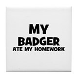 Badger Drink Coasters