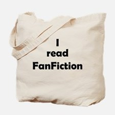 I read FanFiction Tote Bag