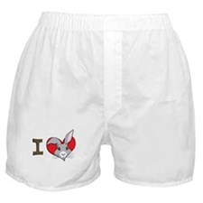 I heart rabbits Boxer Shorts