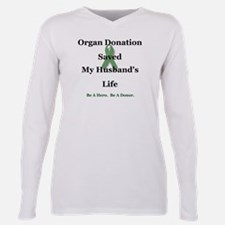Husband Transplant Ash Grey T-Shirt