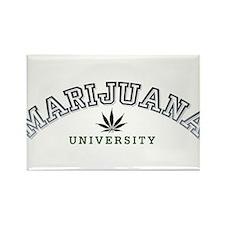 Marijuana University Rectangle Magnet