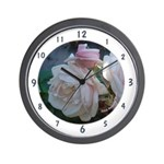 Perfect Roses Wall Clock