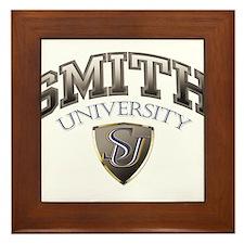 Smith Last name University Framed Tile