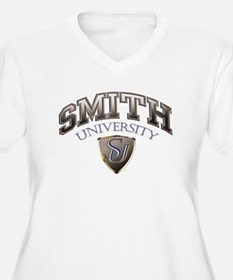 Smith Last name University Plus Size T-Shirt