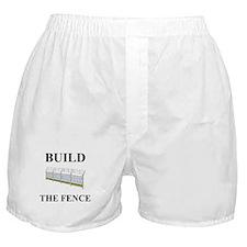 Build the Border Fence Boxer Shorts